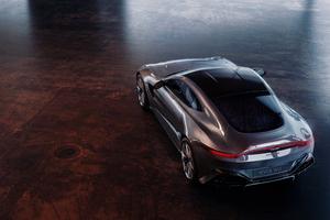 Aston Martin Vantage Upper View Wallpaper