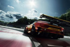 Aston Martin Vulcan Rear 4k Wallpaper