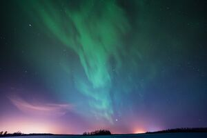 Astotin Lake Northern Lights 5k