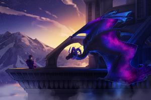 Astrail Dusk Dragon 5k Wallpaper