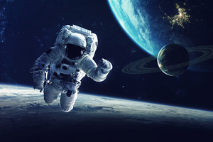 Astronaut 5k Wallpaper