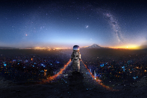 Astronaut Creative Artwork Deviantart
