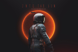 Astronaut Into The Sun 4k