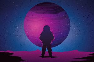 Astronaut Minimalist