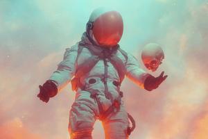 Astronaut Rise Again 5k Wallpaper
