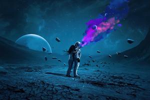 Astronaut Space Explosion 5k Wallpaper