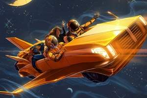 Astronaut Space Scifi Stars