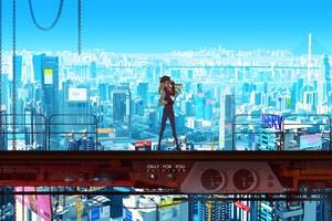 Asuka Neon Genesis 5k Wallpaper