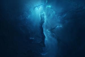 Atlantis Nebula 4k Wallpaper