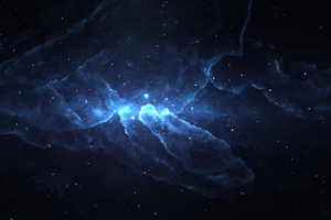 Atlantis Nebula Space 4k Wallpaper