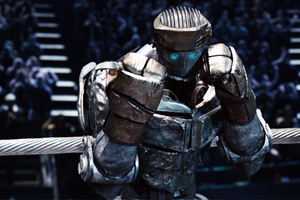 Atom in Real Steel Wallpaper