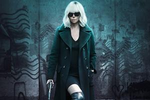 Atomic Blonde Charlize Theron 5k Wallpaper