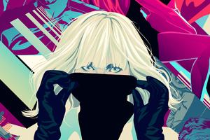 Atomic Blonde Digital Art 4k