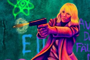 Atomic Blonde Fan Art 5k
