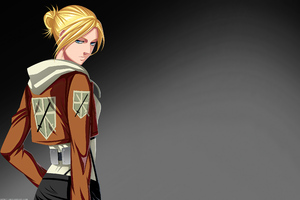 Attack On Titan Annie Leonhart Shingeki No Kyojin