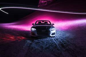 Audi A5 Cabriolet 4k Wallpaper