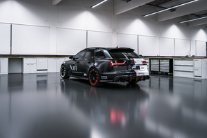 Audi ABT RS 2018 Rear Wallpaper