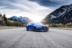 Audi ABT RS 6 4k Wallpaper