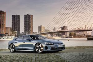 Audi E Tron GT Quattro 2021 Wallpaper