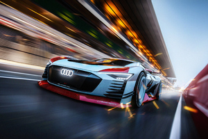 Audi E Tron4k Wallpaper