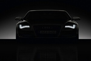 Audi Headlights Wallpaper