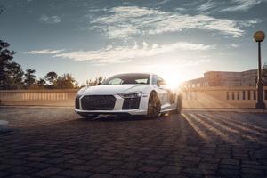 Audi R8 4k 2020 Wallpaper