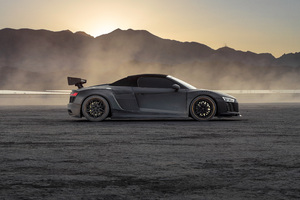 Audi R8 Dry Lake 5k