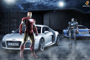 Audi R8 Iron Man War Machine