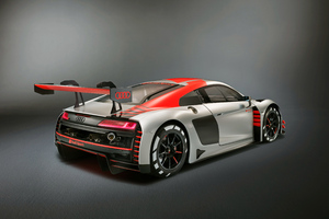 Audi R8 LMS 2019 Rear View