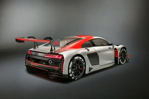 Audi R8 LMS 2019 Rear View Wallpaper