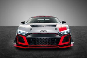 Audi R8 LMS GT4 2019 Front Wallpaper