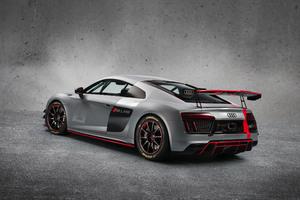 Audi R8 Lms Gt4 Rear Wallpaper