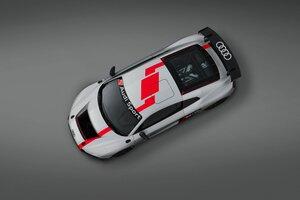 Audi R8 Lms Gt4 Top View Wallpaper