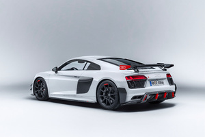 Audi R8 Performance Parts Rear Wallpaper