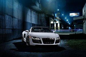 Audi R8 RFX7 Brushed Titanium