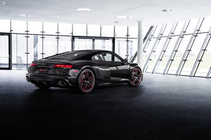 Audi R8 RWD Panther Edition Front Look 2021 10k Wallpaper