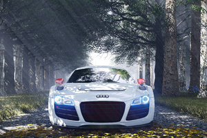 Audi R8 Special Edition Wallpaper