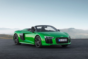 Audi R8 Spyder V10 Plus Wallpaper