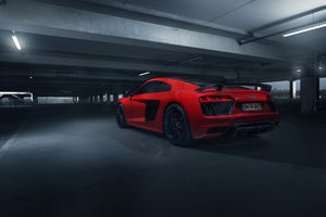 Audi R8 V10 Plus 2018 Wallpaper