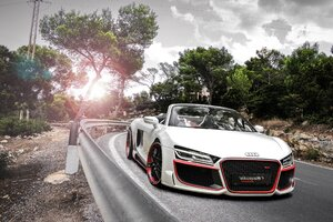 Audi R8 V10 Spyder Regula Wallpaper