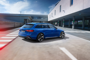 Audi RS 4 Avant 25 Years Of RS 4k Wallpaper