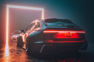 Audi Rs6 4k Wallpaper
