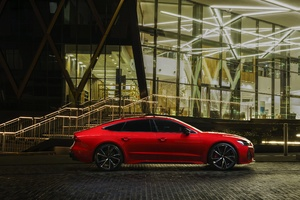 Audi RS7 Sportback Red 5k Wallpaper
