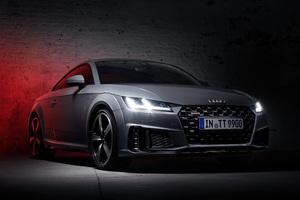 Audi TT 45 Quantum Gray Edition 2019 Wallpaper