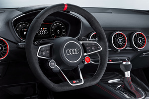 Audi TT RS 2017 Interior Wallpaper