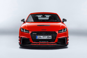 Audi TT RS Performance Parts Front Look Wallpaper