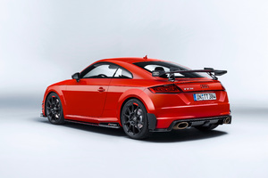 Audi TT RS Performance Parts Rear Wallpaper