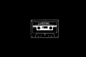Audio Cassette Minimalist