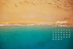 August Calendar 2016
