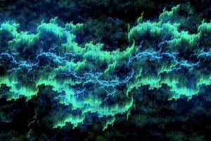 Auroa Borealis Lightning 4k